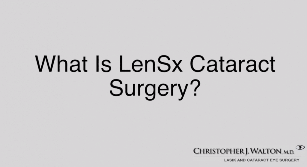 what is lensx cataract surgery 5f4f793e751c9