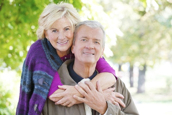 Senior couple eye care Mobile Alabama